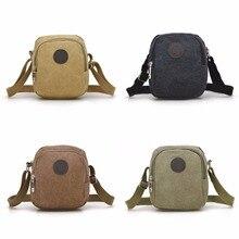 Новое поступление, винтажная холщовая мужская сумка на плечо, повседневные сумки через плечо для мужчин, для отдыха, путешествий, пляжа, одноцветная мужская сумка, Bolsos Mujer