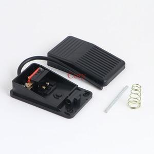1 шт. 220 В 10A SPDT Мгновенный тип Переключатель педаль питания педаль переключатель безопасности пресс черный пластик CZYC