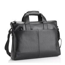 dabe2d59a181 Для мужчин сумки Бизнес Портфель сечение 15.6 дюймов Сумка для ноутбука  моды случайные прилива Для мужчин на ремне сумка
