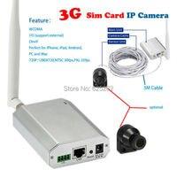 Nuovo Emergenti di Sicurezza Mini 3G Rete P2P 720 P CCTV Macchina Fotografica di Sostegno 128 GB SD Card