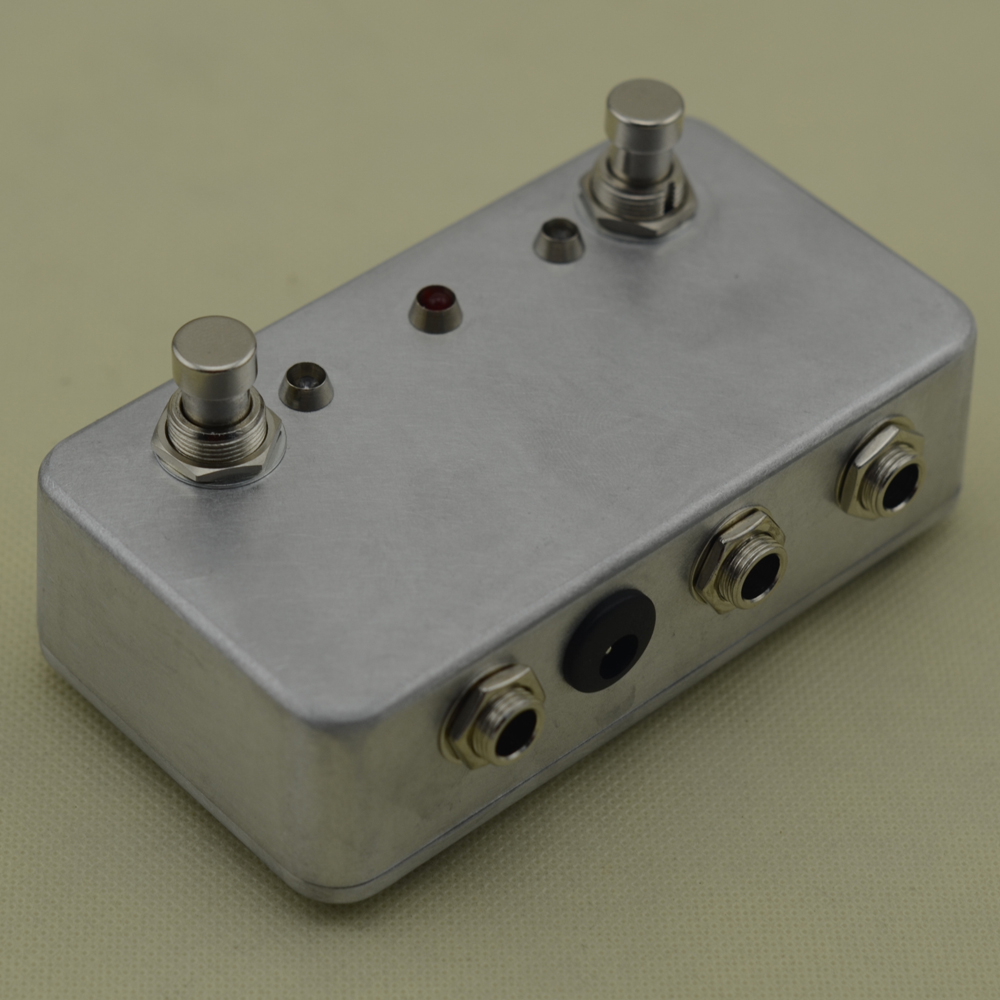 Hecho a mano ABY Switch Box TRUE BYPASS! Amp / guitarra AB envío - Instrumentos musicales - foto 4