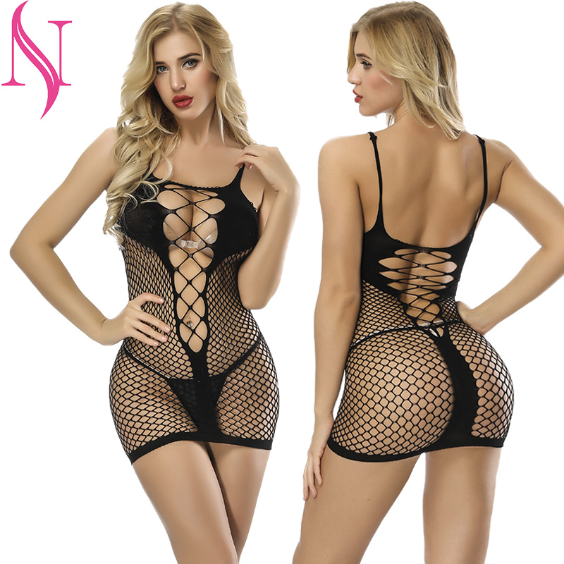 <font><b>Sexy</b></font> <font><b>lingerie</b></font> Women <font><b>Transparent</b></font> Dress Elasticity Hollow Nightwear Lace <font><b>Sexy</b></font> Underwear Exotic <font><b>lingerie</b></font> for Sex <font><b>Baby</b></font> <font><b>Dolls</b></font> image