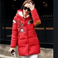New 2015 Winter plus size fashion women cute applique hooded cashmere coat warm winter padded women jacket sherpa wadded XXXXXL