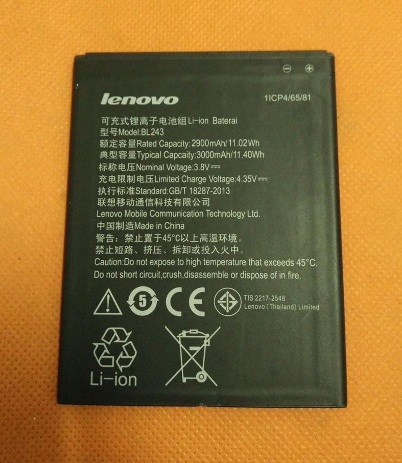 Original 3000mAh battery Batterie Batterij Bateria For Lenovo K3 Note K50-t5 MTK6752 Octa Core 4G FDD LTE 5.5 FHD