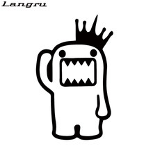Langru Hot Sale Domo Kun Vinyl Decal Sticker Car Stying Jdm Car Accessories Decorative Jdm(China)