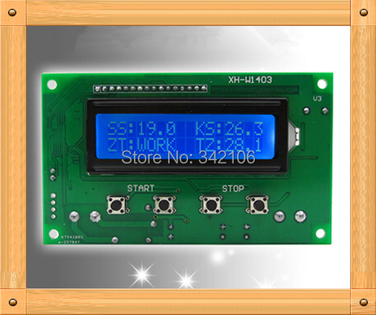 Free Shipping!!! XH-W1403 upper and lower limits set relay output / 1602 LCD / 0.1 Accuracy -50 ~ 110Free Shipping!!! XH-W1403 upper and lower limits set relay output / 1602 LCD / 0.1 Accuracy -50 ~ 110