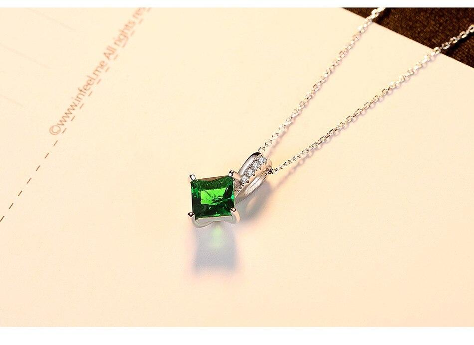 Joyería de moda colgante de cristal S925 plata esterlina fabricantes COLLAR COLGANTE para las mujeres LB26