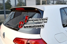цена на FOR GTI Style CARBON FIBER 2014-2017 VW Golf 7 VII MK7 rear window spoiler