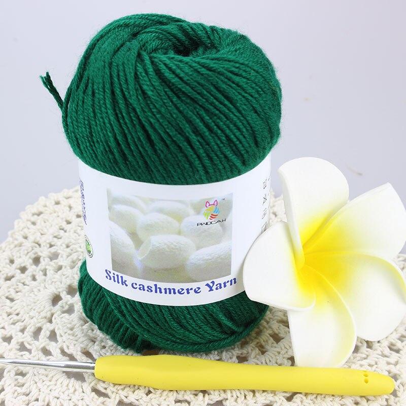 Dropshipping Laine Merino Wool Silk Cashmere Knitting Thick Yarn Cotton Crochet Yarns For Hand Knitting Sale Baby Wool Thread