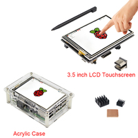 3 5 inch HDMI Touchscreen TFT LCD Display Adjustable 480 320 to 1920 1080 Transparent Acrylic