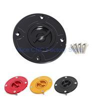 CNC Keyless Fuel Gas Tank Cap For Suzuki TL1000S/R GSX600F 1998-2001 GSXR1300 1999-2007 GSXR1000 2001-2002