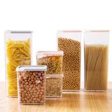 1620ML Kitchen Storage Box Transparent Sealed Moistureproof Sealing Food Preservation Plastic Fresh Pot Container