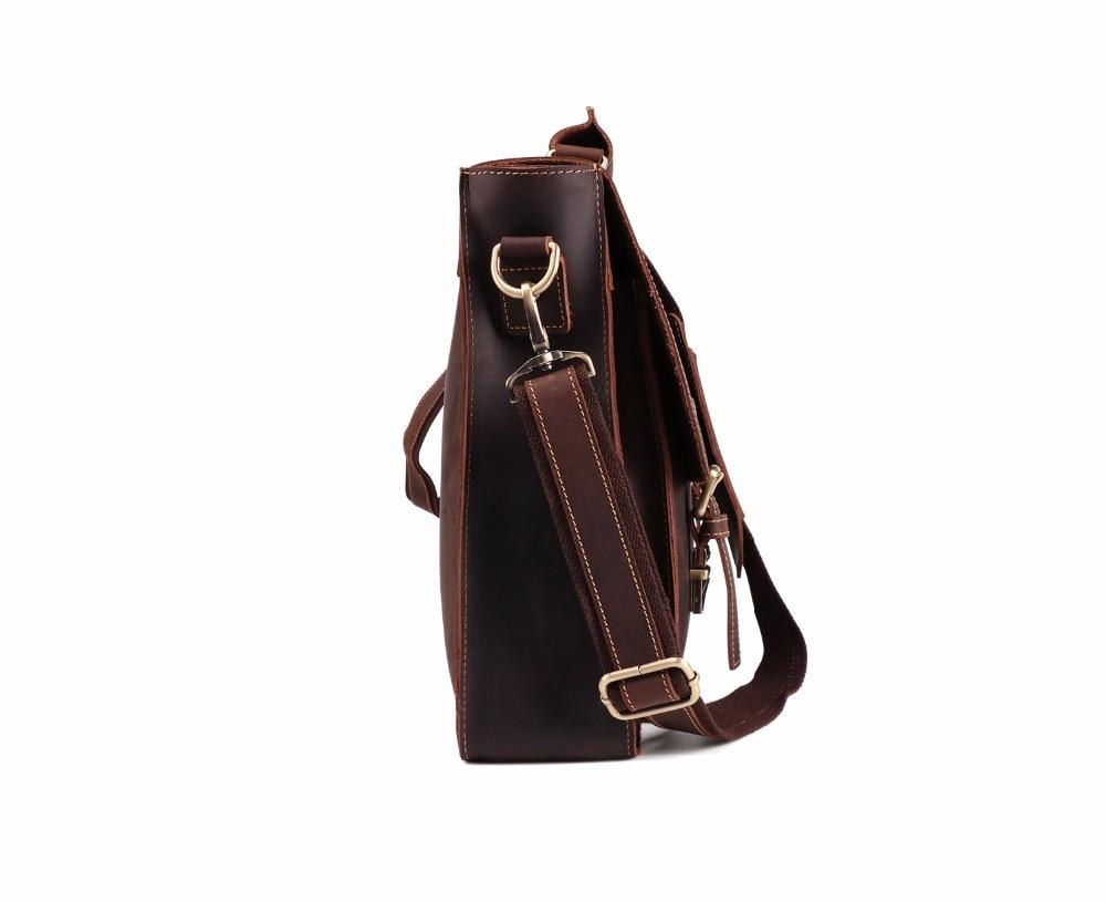 HTB1nFarJqSWBuNjSsrbq6y0mVXa9 JOYIR 2019 Vintage Men's Genuine Leather Briefcase Crazy Horse Genuine Leather Messenger Male Laptop Bag Men Business Travel Bag