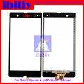 """10 Шт./лот высокое качество 5.0 """"Для Sony Xperia Z L36h L36i C6606 C6603 C6602 Сенсорным Экраном Дигитайзер Датчик Стекло Объектива Панель"""