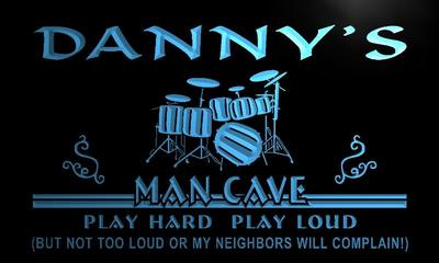 x0102-tm Dannys Man Cave Lounge Custom Personalized Name Neon Sign Wholesale Dropshipping On/Off Switch 7 Colors DHL