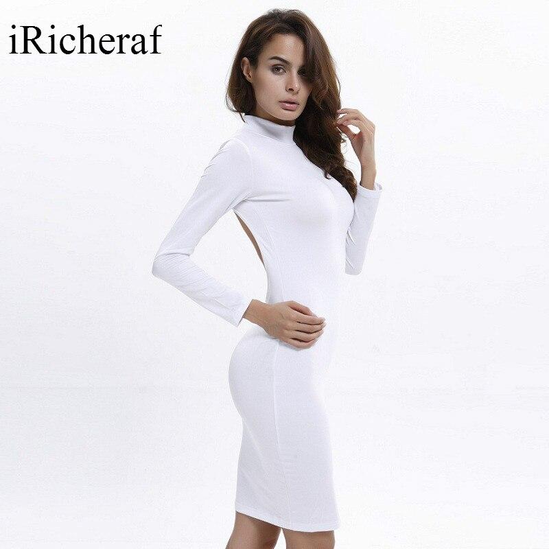 Turtleneck Wrap Dress