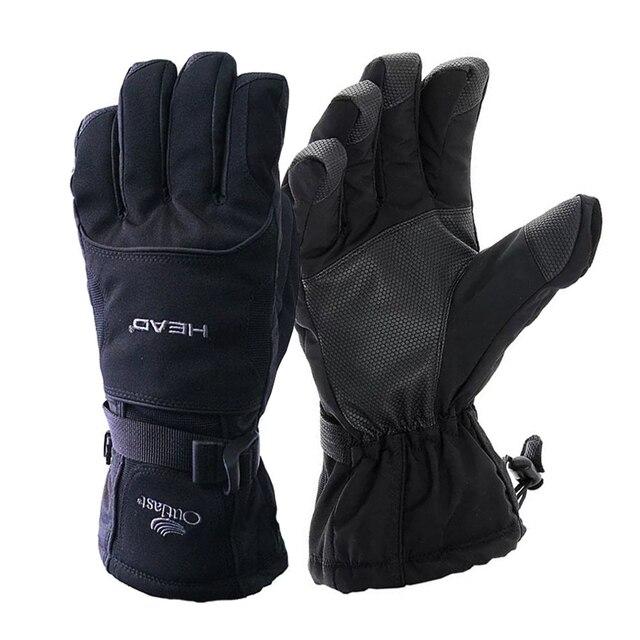 Лыжные перчатки ветрозащитные дышащие сноубордические перчатки унисекс снегоход мотоциклетные перчатки непромокаемые зимние теплые перчатки