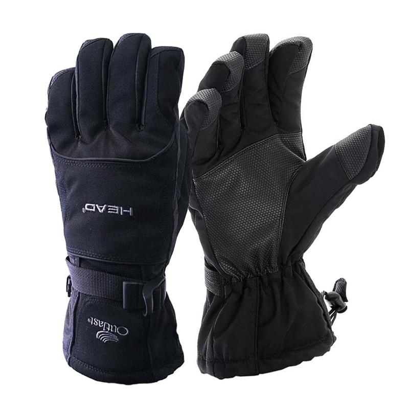 Ski Gloves Windproof Breathable Snowboard Gloves Unisex Snowmobile Motorcycle Gloves Waterproof Winter Warm Gloves