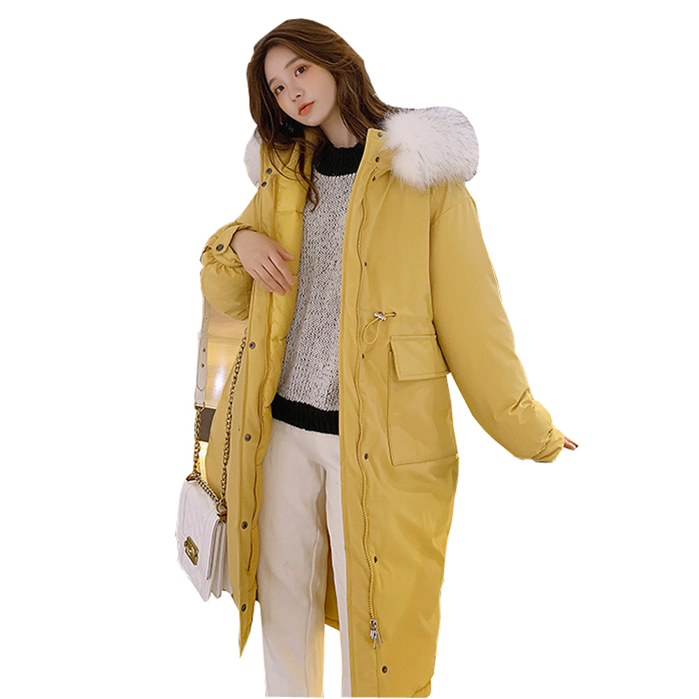 Winter Jacket Women New 2019 New mid-long version of large down jacket   parka   down woman winter 6606