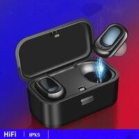 PIZEN L1 touch TWS Bluetooth Wireless Earphone Sport Handsfree Earbuds Headset Earbud Earphones with Charging case