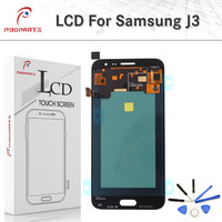 Adjust Bright AMOLED LCD Touch Screen for Samsung Galaxy J320 J3 2016 SM J320FN J320M J320H/DS LCD Display Digitizer Assembly+T