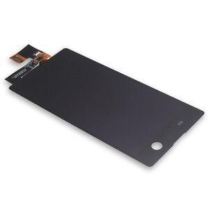Image 3 - Per Sony Xperia M5 LCD display originale per Sony Xperia M5 A CRISTALLI LIQUIDI di tocco digitale dello schermo di E5603 E5606 E5653 del telefono mobile accessori