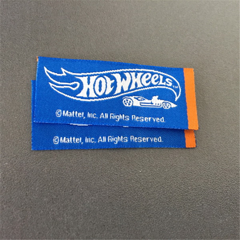 Customized double density woven flag label in Garment Labels from Home Garden