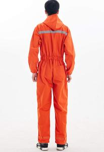 Image 4 - Safety reflective work overalls with hat, factory uniform work clothing, cotton overalls.jumpsuit,Labor suit.