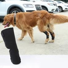 2 Stks/paar Hond Kneelet Huisdier Been Knie Spronggewricht Brace Bandjes Bescherming Hond Bandages Wrap Medische Benodigdheden Honden Pad Therapeutische Ondersteuning