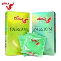 ZIOXX презервативы 100 шт./лот натурального латекса гладкой смазкой презервативы для Для мужчин Секс-игрушки продукты секса падение доставка