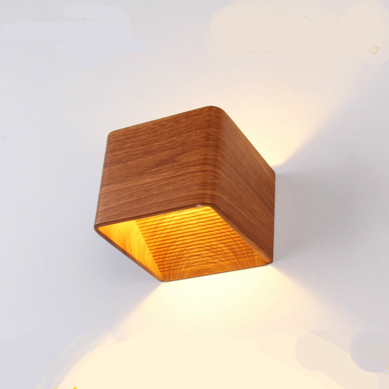 Modern 3d Cube Aluminum Led 3/5w Wall Lamp For Bedside Bedroom Living Room Aisle Porch Light Ac80-265v 10*10*8cm 1934 Special Summer Sale Back To Search Resultslights & Lighting Led Lamps