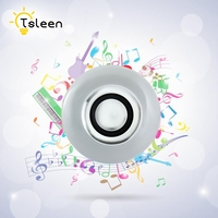 TSLEEN Cheap E27 Bluetooth Speaker Lamp Smart Connection Music Player Lamparas LED Light RGB Bulb 110V 220V Bombillas Light