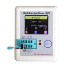 2016 New Transistor Tester TFT Diode Triode Capacitance Meter LCR ESR meter NPN PNP MOSFET IR Multifunction tester multimeter