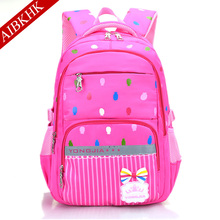6-12 year old Girls Orthopedic School Bag Backpack for Children Schoolbag Mochila Infantil Grade 3-6