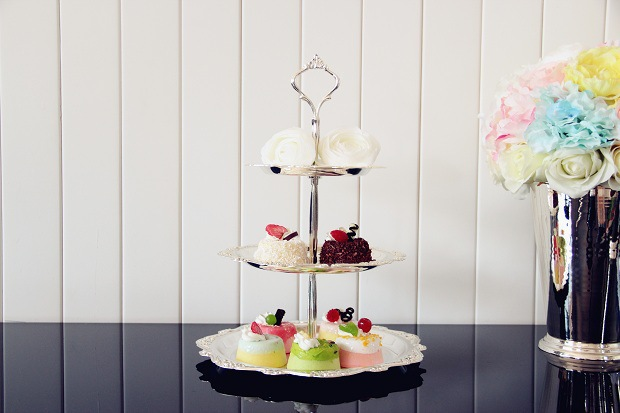 Free shipping 3 tier silver plated cake stand cake tray dessert plate cake pallet fruit stand for bar decoration party supplies-in Stands from Home u0026 Garden ... & Free shipping 3 tier silver plated cake stand cake tray dessert ...