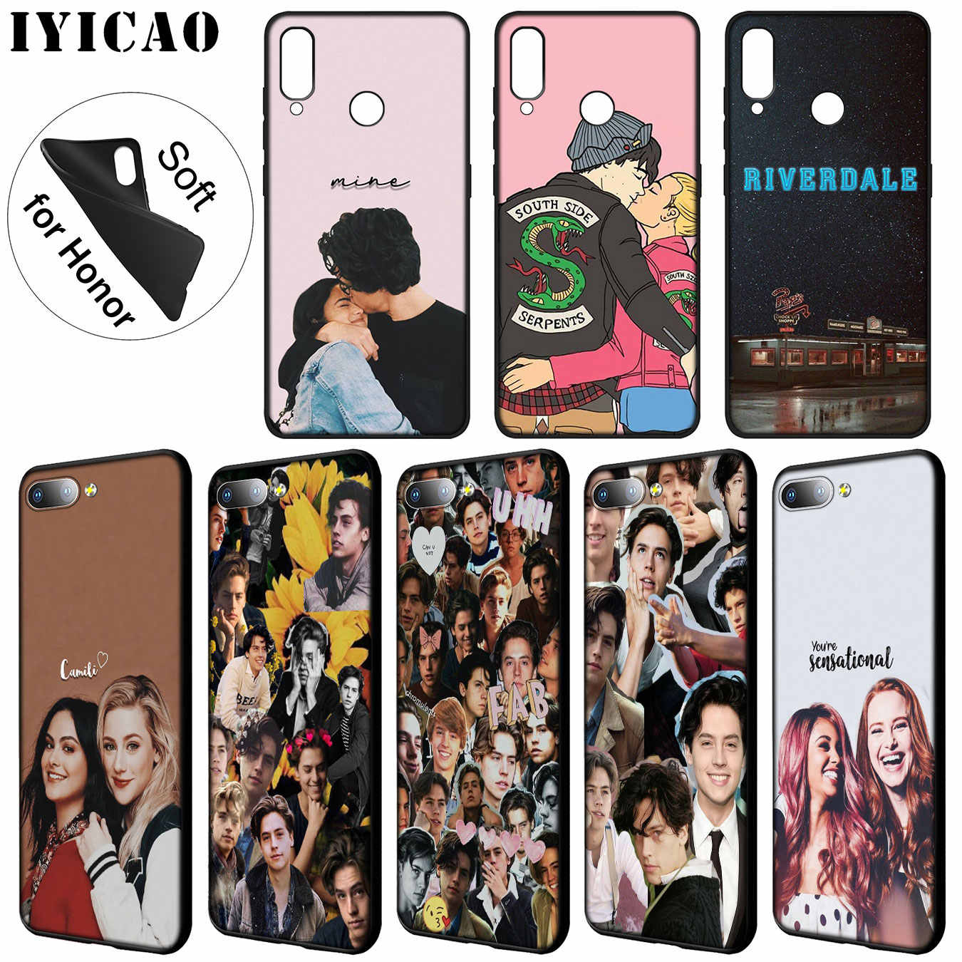 IYICAO riverdale choni Soft Silicone Phone Case for Huawei Y9 Y7 Y6 Prime 2019 Cover Honor 20 8C 8X 8 9 9X 10 Lite 7C 7X 7A Pro
