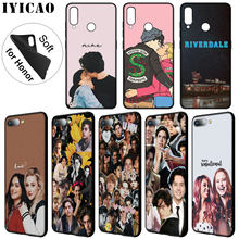 IYICAO riverdale choni Soft Silicone Phone Case for Huawei Y7 Y6 Prime Y9 2018 Y5 Cover Honor 8C 8X 8 9 10 Lite 7C 7X 6A 7A Pro(China)