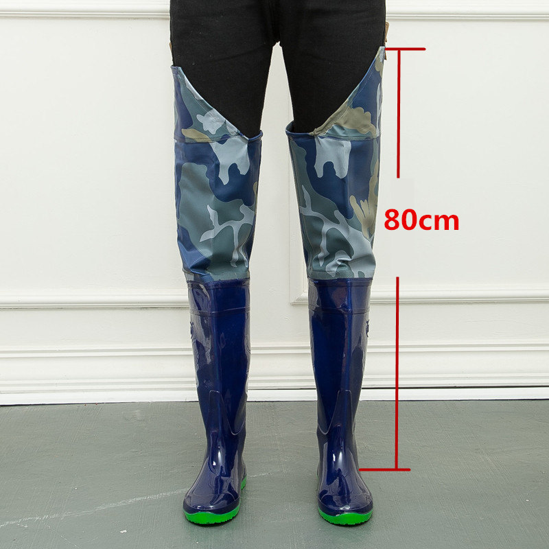 High-Jump Camouflage Fishing Waders Boots Waterproof 80cm Height Clips Soft Boots Widely-Used Fishing Waders Overalls Boot ShoesHigh-Jump Camouflage Fishing Waders Boots Waterproof 80cm Height Clips Soft Boots Widely-Used Fishing Waders Overalls Boot Shoes