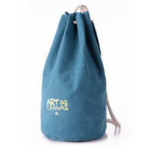 K-913 # Оптовая Новый Холщовый мешок Женщин Сумка Письмо Печатные Сумка Рюкзак