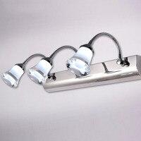 LED Mirror Wall Lamp for Bathroom Bedroom Vanity Lighting Rotatable Cosmetic Acrylic Wall light Bathroom Lighting Waterproof