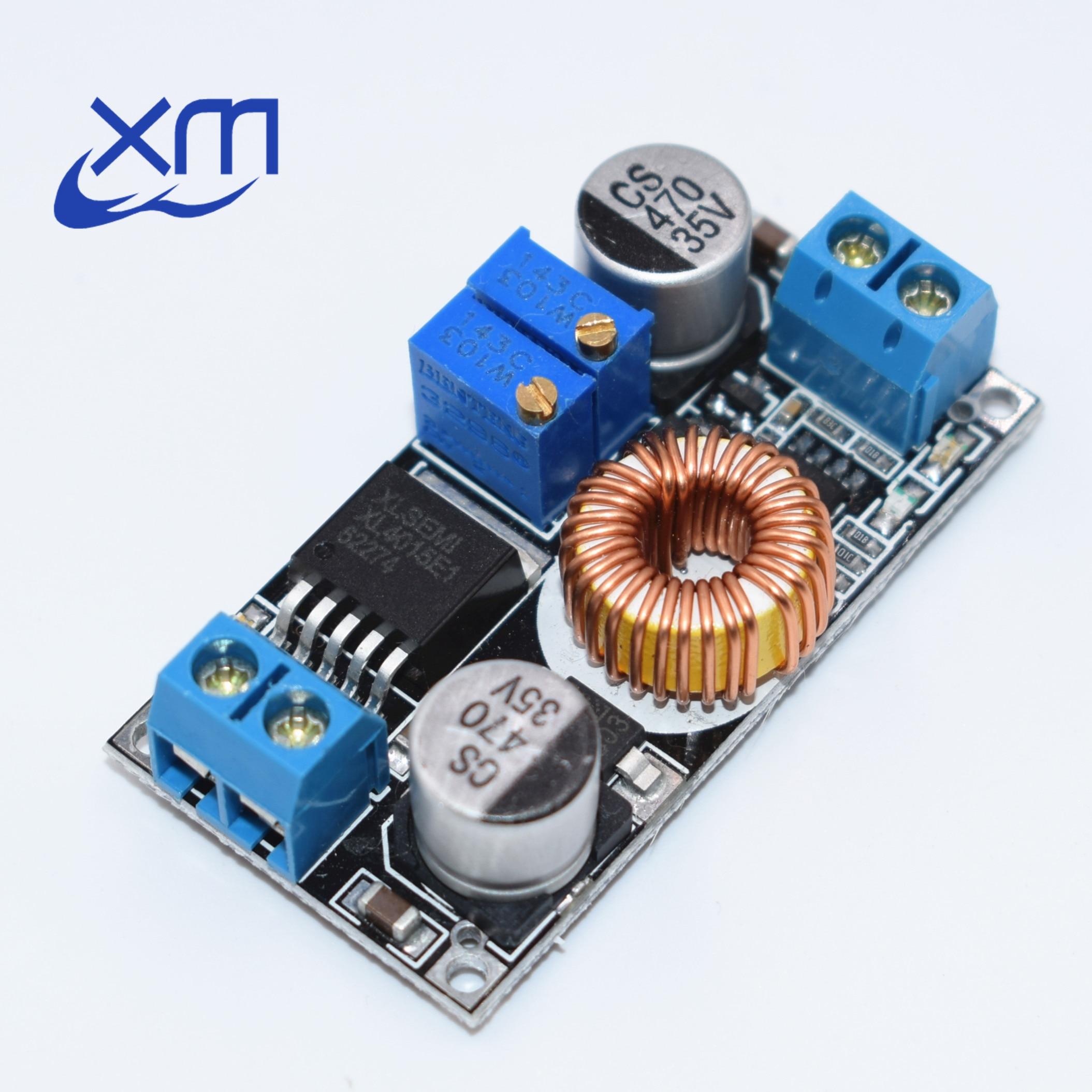 Cc Cv Adjustable Max 5a Step Down Buck Charging Board Xl4015 Lithium Li Ion Battery Charger Circuit Balancing Attiny26 Lcd Lipo 1 Pcs Dc Batterij Opladen Led Power