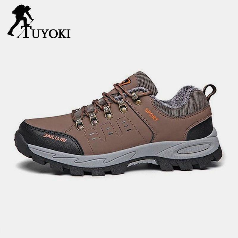 Tuyoki grande taille 36-47 hommes mode Simple chaussures de randonnée femmes en plein air unisexe Camping Fitness Trekking chaussures Sneakers Club