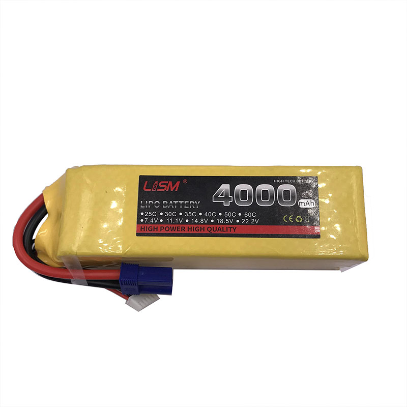<font><b>6S</b></font> 22.2V <font><b>4000mAh</b></font> 35C Battery <font><b>Lipo</b></font> For RC Airplane Quadcopter Helicopter Drone Aircraft Car Boat Remote Control Toys <font><b>Lipo</b></font> #35F6 image