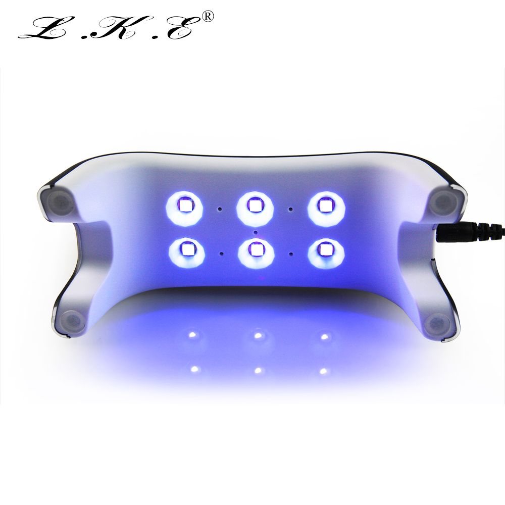 Portable UV Lamp Mini 12W Nail Dryer 365+405nm White Light LED UV Lamp Support USB Charger Cure UV LED Nail Gel Machine