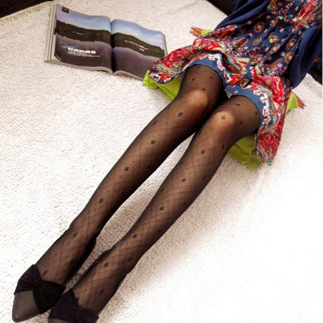 Fishnet sexy party Club tights mesh nylons Slim Transparent seamless Pantyhose - 6 different styles 4