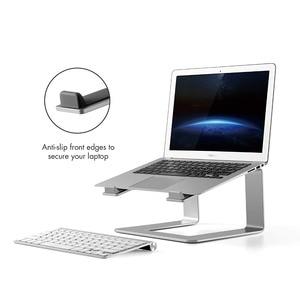 Image 4 - ユニバーサルラップトップスタンドデスクエレベーターノートライザーアルミノートブック冷却用スタンド適用 macbook pro の空気 11 17 インチ