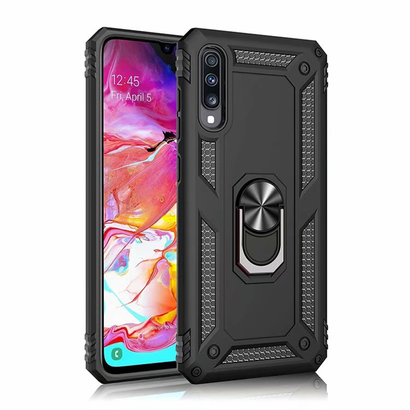 Heavy Duty Extreme <font><b>Armor</b></font> <font><b>Case</b></font> For <font><b>Samsung</b></font> Galaxy A70 A50 A80 A40 A30 <font><b>A20</b></font> A20S A10 M10 M20 Magnet Shockproof Cover Rotating Stand image