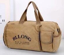 0 canvas Sports bag Single shoulder  Travel bag handbag waterproof luggage Men and women Yoga package Cylinder package Gym bag