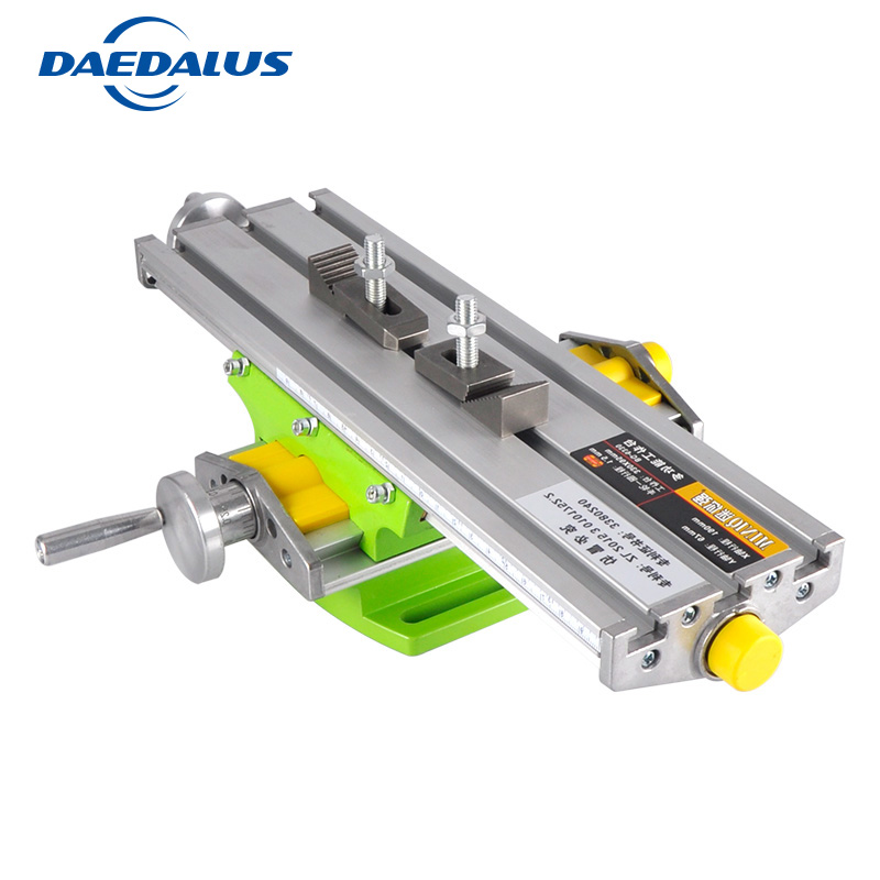 Bench Vise 6330 Drill table Mini Multifunctional Cross Working Table XY-axis adjustment Coordinate table For cnc milling machine mini multifunctional cross working table bench vise manual tools x y axis adjustment table for drilling milling machine bg 6330