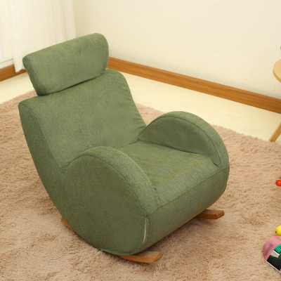 Baby Child Rocking Chair Child Solid Wood Sofa Chair Rocking Chair Bb Rocking  Chair 0 To